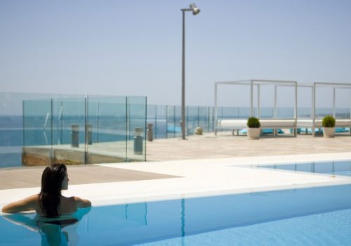 Pool with Sea Views