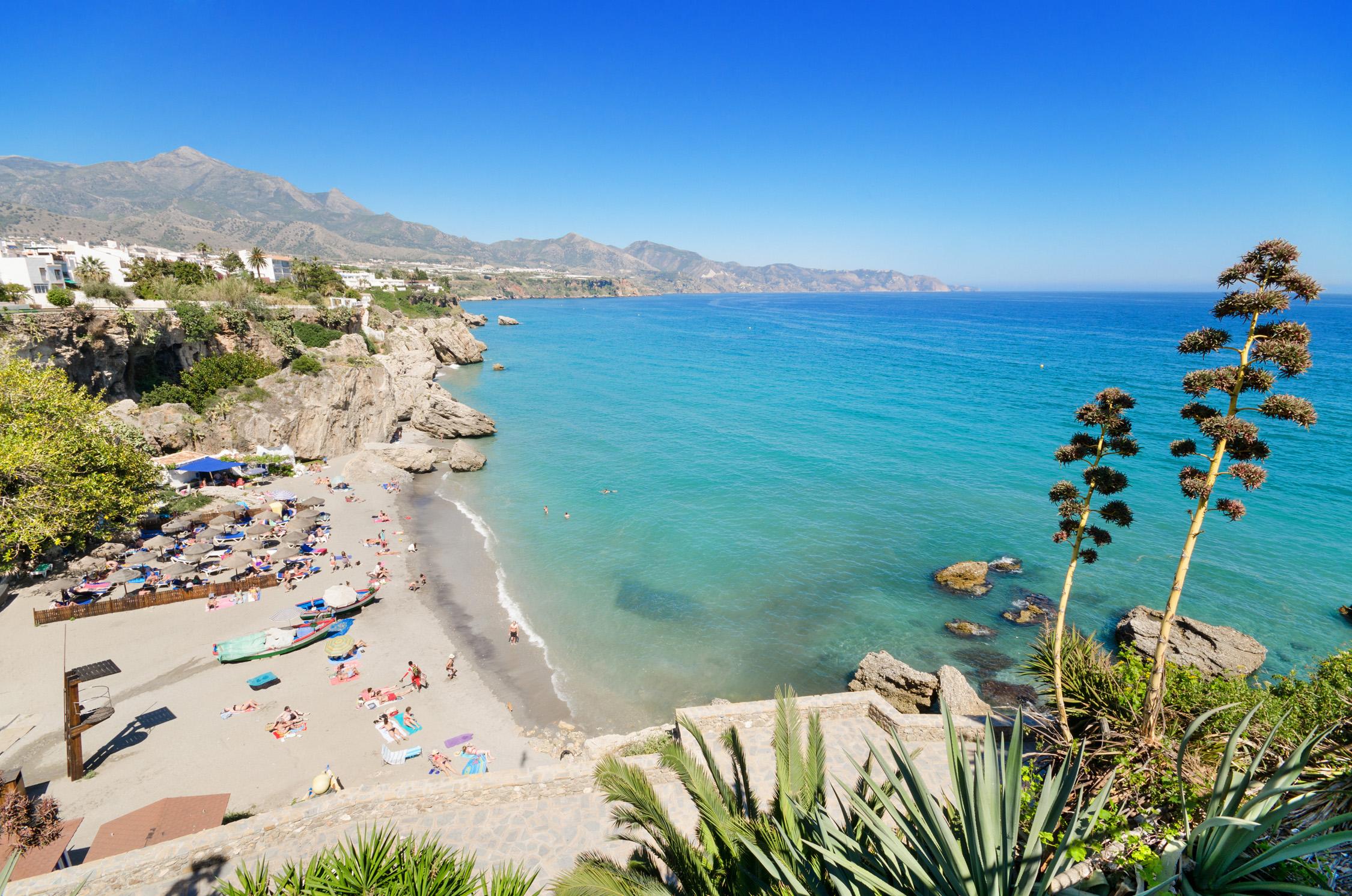 Costa Del Sol In Spain